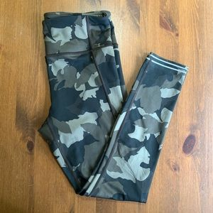 Athleta Camo Tights